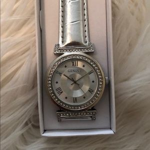 "Silver ""Bling"" Watch"